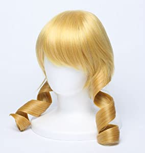 Wig] Tomoe Mami Puella Magi Madoka Magica cosplay accessory (japan