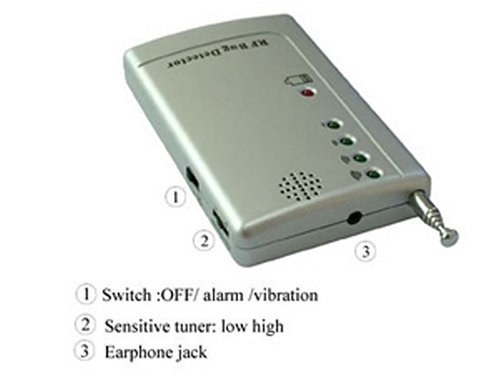 Professional Wireless Rf Signal Bug Detector
