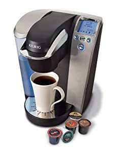 Keurig® Platinum B70 Gourmet Single Cup Coffee & Tea Brewing System Added Value: 60 K-Cups & My K-Cup Reusable Filter