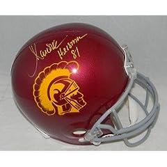 Marcus Allen Signed Autographed Usc Trojans Full Size Helmet Gtsm W  Heisman 81 -...