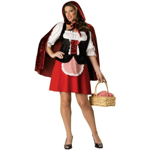 Little Red Riding Hood Costume - XX-Large - Dress Size