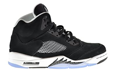 Buy Air Jordan 5 Retro Oreo Mens Shoes Black Cool Grey-White 136027-035 by Jordan