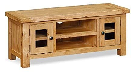Helford Oak TV Unit