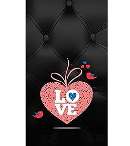 EPICCASE pink love Mobile Back Case Cover For Sony Xperia Z3 (Designer Case)