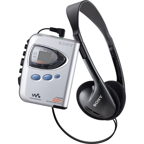 Sony Sony WMFX290W Walkman Amfmweather Radio And Cassette Player