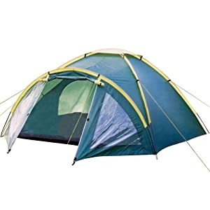 Happy Camper Three Person Tent (Green)