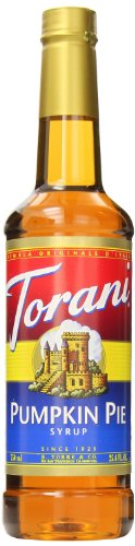 Torani Syrup, Pumpkin Pie, 25.4 Ounce (Pack Of 4)