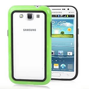Crazy4Gadget 2-color (Plastic + TPU) Bumper Framefor Samsung Galaxy Win i8550 / i8552(Green)