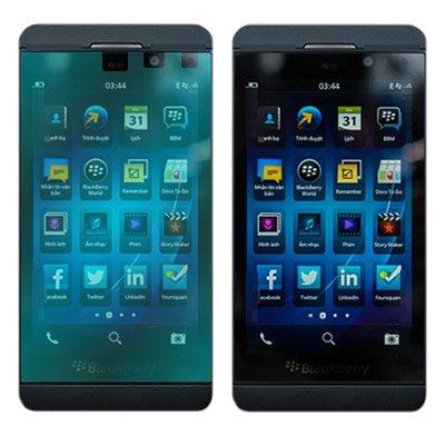 Coveron® Clear Transparent Lcd Screen Protector Shield For Blackberry Z10 Verizon /Att / Tmobile [Wcs1267]