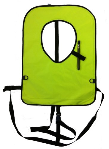 Yellow Extra Large (XL) Snorkel, Snorkeling Vest - USA Crafted