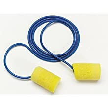 3M E-A-R Classic Corded Earplugs, Hearing Conservation 311-1101 in Poly Bag