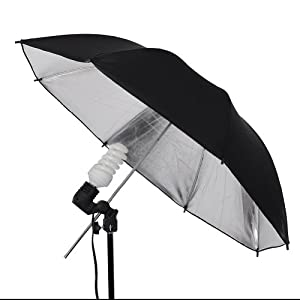Neewer Photo Studio E27 Bulb Holder AC Socket Light Stand Mount Umbrella Swivel Bracket