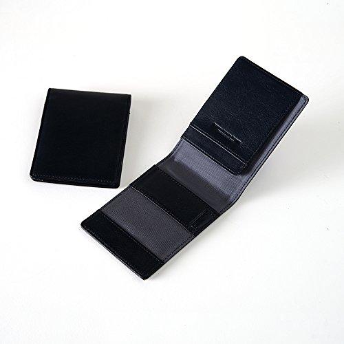 [牛本革]ロディアカバーNo.11サイズ(ミーリングレザー) Business Leather Factory (ブラックネイビー)