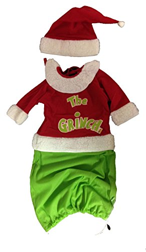 The Grinch Baby Costume and Hat