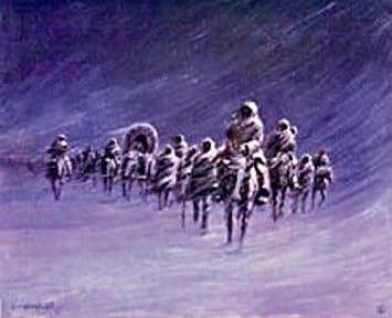 Long Walk of the Navajos by Olaf Wieghorst