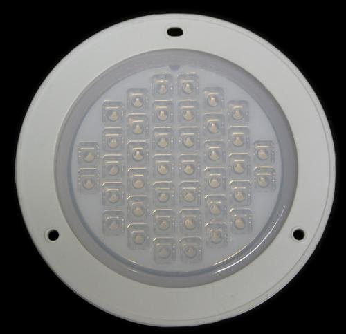 Led Dome Lamp Light Interior Trailer, Van, Bus, Or Rv With Flange