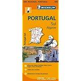 Carte Portugal Sud Michelin