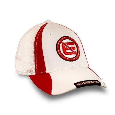 No Errors Sideswipe Cap (White/Red)
