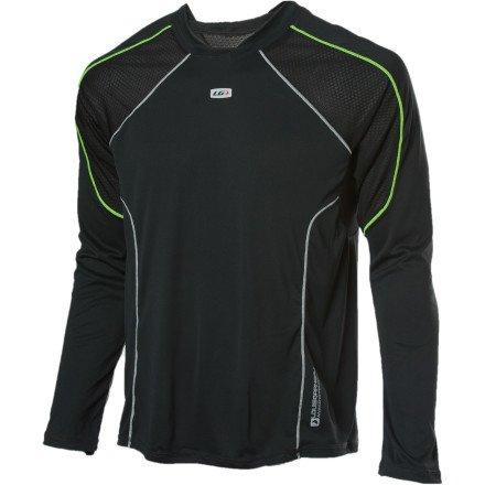 Buy Low Price Louis Garneau 2012/13 Men's Run Supra Lite Long Sleeve Jersey – 1023275 (B004L9O0PC)