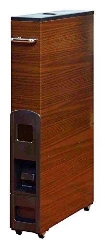マッキンリー 『米びつ、ライスストッカー』 カラースリムライスボックス 12kg収納タイプ 木目 RF712M