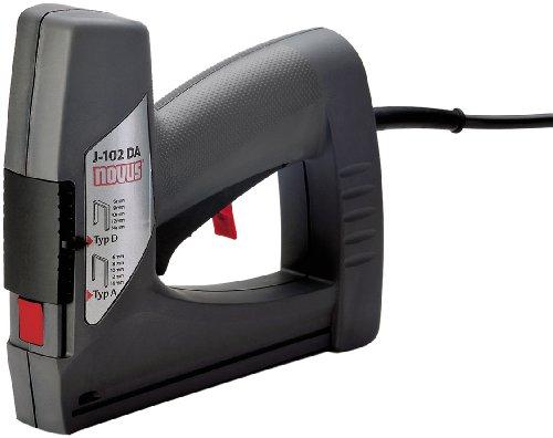 Novus-Elektrotacker-J-102-dual-power-Unterlademechanik-mit-Sicherheitsentriegelung-Auslsesicherung-und-Klammernsichtfenster-Fr-Feindrahtklammern-und-Flachdrahtklammern-bis-14-mm-031-0354
