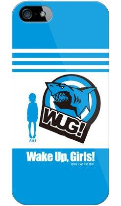 [iPhone 5s/au専用] WUG スマートフォンケース Wake Up, Girls! ウェイクアップガールズシリーズ 林田 藍里 (はやしだ あいり) Hayashida Airi (アニマルアイコン) (ソフトTPUクリア) 【光沢なし】 AAPI5S-TPCL-711-S384