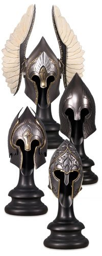 Picture of Sideshow Lord of the Rings The Gondorian Helm Collection Figure (B001TANU3Y) (Sideshow Action Figures)