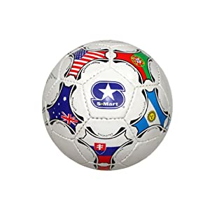 White Super Soft Soccer Ball Official Size - World Cup