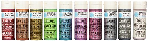 martha-stewart-crafts-glitter-acrylic-craft-paint-set-32309-10-colors