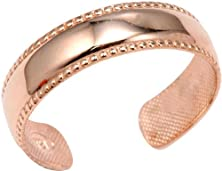 buy Bold 14K Rose Gold Toe Ring