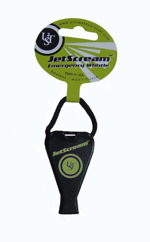 Ultimate Survival Technologies JetScream Whistle (Black)