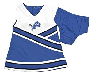 NFL Detroit Lions Infant/Toddler Cheerleader Dress & Bloomers (2T)
