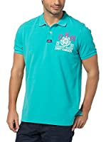 Jimmy Sanders Polo (Turquesa)