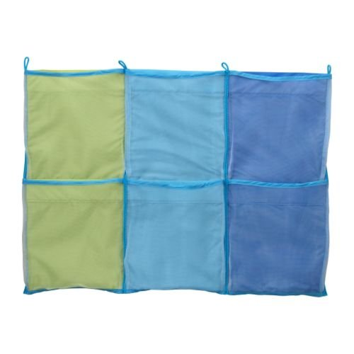 IKEA - KUSINER Wall Pockets, blue (FBA)