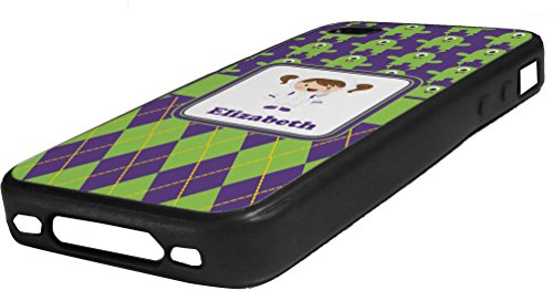 Astronaut, Aliens & Argyle Rubber Iphone Case 4/4S front-976882