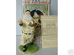 Detroit Tigers 1907 MLB Cooperstown Santa Figurine by Flambro