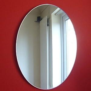 Miroir forme ovale 40cm cuisine maison for Miroir forme maison