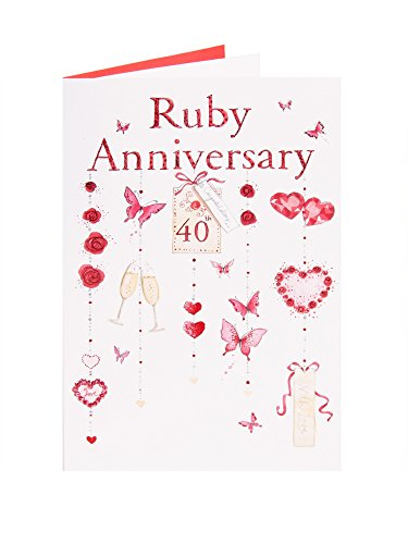 Popular anniversary cards for wedding th