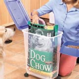 PET FOOD BIN LARGE 45 QUART E