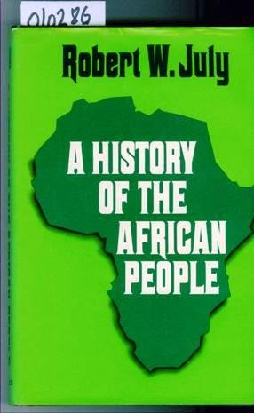 Title: History of the African People