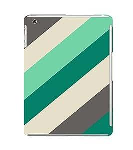 EPICCASE Blue Green Pattern Mobile Back Case Cover For Apple Ipad Mini 2 (Designer Case)