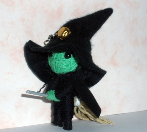 1 X Wicked Witch Wizard String Doll Voodoo Keychain Keyring - 1