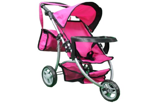Mommy & Me Doll Stroller With Free Carriage Bag #9377B-T front-895997