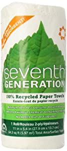 White Paper Towels, Right Sized, 156 sheets