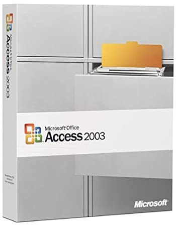 Microsoft Access 2003 [OLD VERSION]