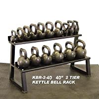 Ader Premier Kettlebell Set w/ Rack & DVD- 7 Pairs(5, 10, 15, 20, 25, 30, 35lb) from Ader Sporting Goods
