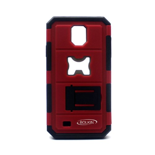 Bolkin® Bottle Opener Series Shockproof Cover Case for Samsung Galaxy S4 I9500 (Red) (Galaxy S4 Case With Bottle Opener compare prices)