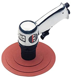 Jet JSG-0402 3-Inch, 4-1/2-Inch, and 5-Inch Pnuematic Sander with 3-Layered-Changeable Pads