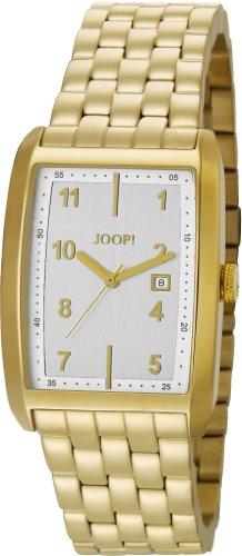 Joop  Transcendence - Reloj de cuarzo para hombre, con correa de acero inoxidable, color dorado