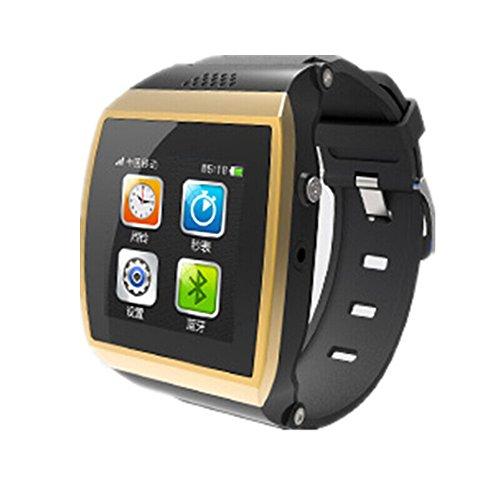 CIYOYO 「 M7 スマートウォッチ」CIYOYO 「 M7 スマートウォッチ」 SIMフリー 着信ブレス スマートウォッチ Bluetooth搭載 iPhone  Androidスマートフォン対応  (ゴールド)